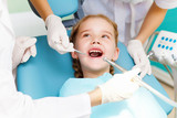 Little girl visiting dentist - 44539514