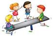 seesaw kids