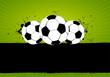 Grunge Soccer Football