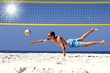 Beachvolleyball Hechtbagger