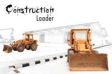 concept Loaders excavators construction machinery equipment
