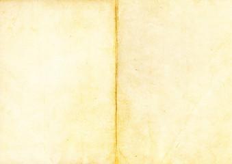 Antike, vergilbte Buchseiten
