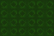 Green Grunge Background with Quatrefoil Pattern