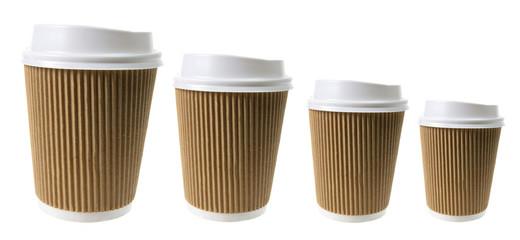 Cups of Takeaway Coffee