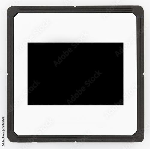 diabild mit schwarzem rahmen stockfotos und lizenzfreie bilder auf bild 44546166. Black Bedroom Furniture Sets. Home Design Ideas