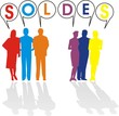 silhouettes soldes