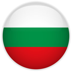 Bulgaria Flag Glossy Button