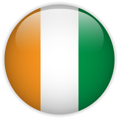 Ireland Flag Glossy Button