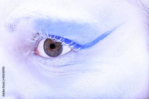 Fototapeten,gesicht,kunst,makeup,eye
