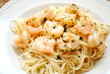 Spaghetti with Garlic and Shrimp