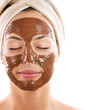 Facial Chocolate Mask. Spa