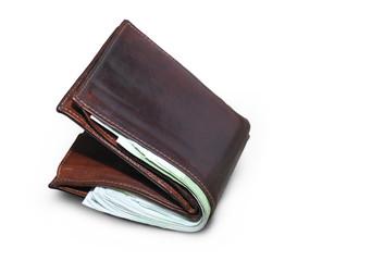 Portemonnaie freigestellt - Geldbörse