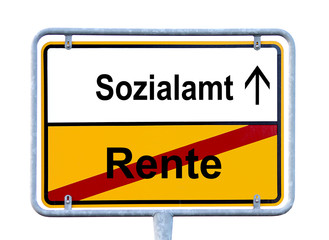 Rente - Sozialamt