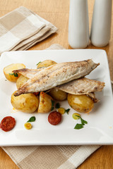 Mackerel meal