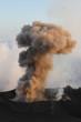 Rauchwolke am Stromboli
