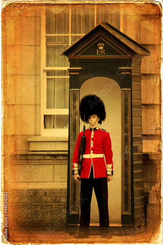 English guard, London