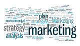 marketing concept  tag cloud