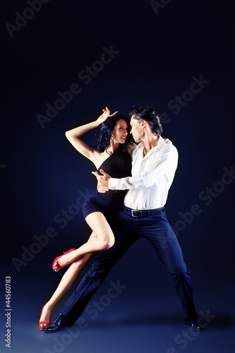 Fototapeten,ausdruck,rumba,paar,dancing