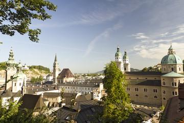 Salzburg at dawn