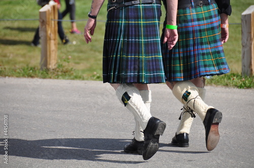Scottish Canadians at the Calgary Highland Games.