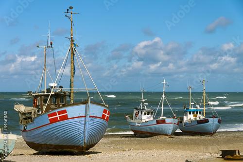 dänische Fischerboote