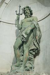 Triton statue, L'Aquila, Italy