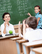Every pupil wants to answer to teacher's questions at math