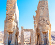 Persepolis, view on entrance gates in Iran.