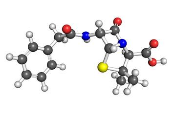Penicillin G molecule