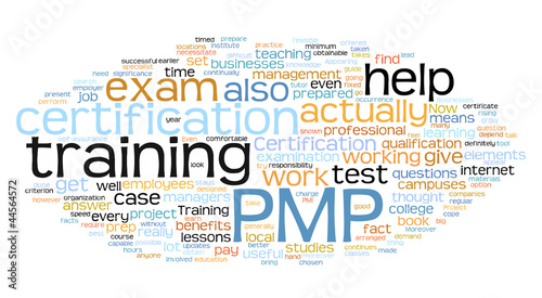 PMP tag cloud
