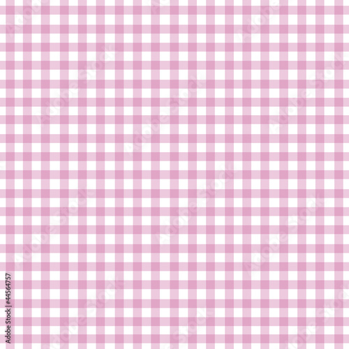 Pink Gingham Background - 44564757