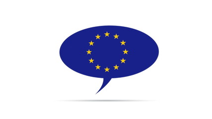 European Union Speech Bubble