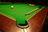pool billiards table