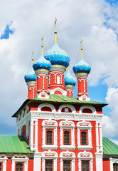 BEAUTIFUL CATHEDRAL IN UGLICH, RUSSIA