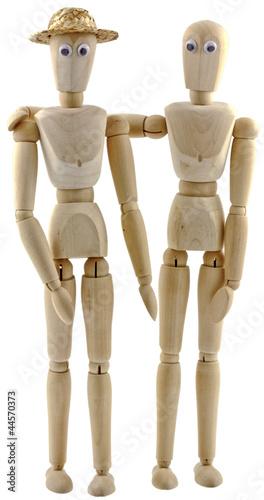 mannequins bois articul dessin beaux arts photo libre. Black Bedroom Furniture Sets. Home Design Ideas
