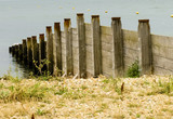 Rough Wooden Groynes