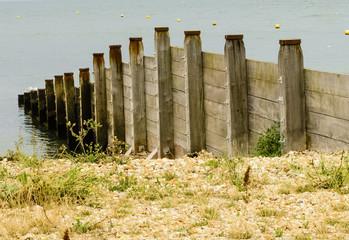 Rough Wooden Groynes