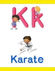 Learn alphabet worksheet