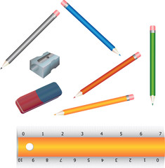 School and office tools.