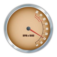 Retro tachometer