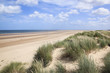 sand dunes holkham beach north norfolk uk