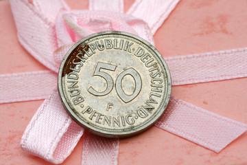 50 pfennig coin