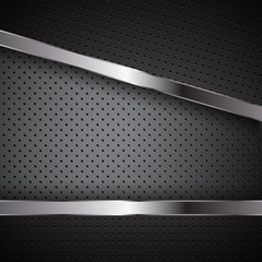 carbon chrome background