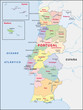 Portugal, Regionen, Administrativ
