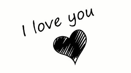 I love you inscription 2