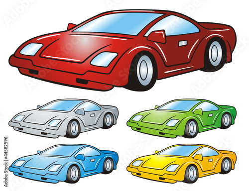Sportscar Colored