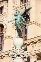Beautiful sculpture near Natural History Museum in Vienna, Austr