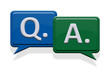 Q&A, Question and Answer, Frage und Antwort