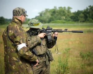 On the war - asg - air soft gun