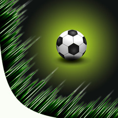 Abstract Beautiful soccer Background